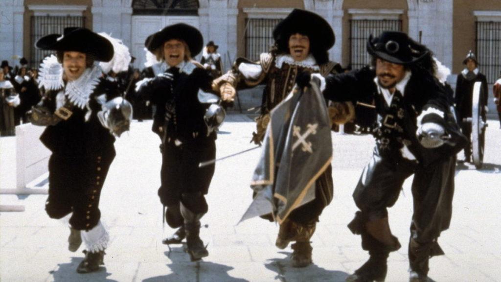 i migliori film con i tre moschettieri