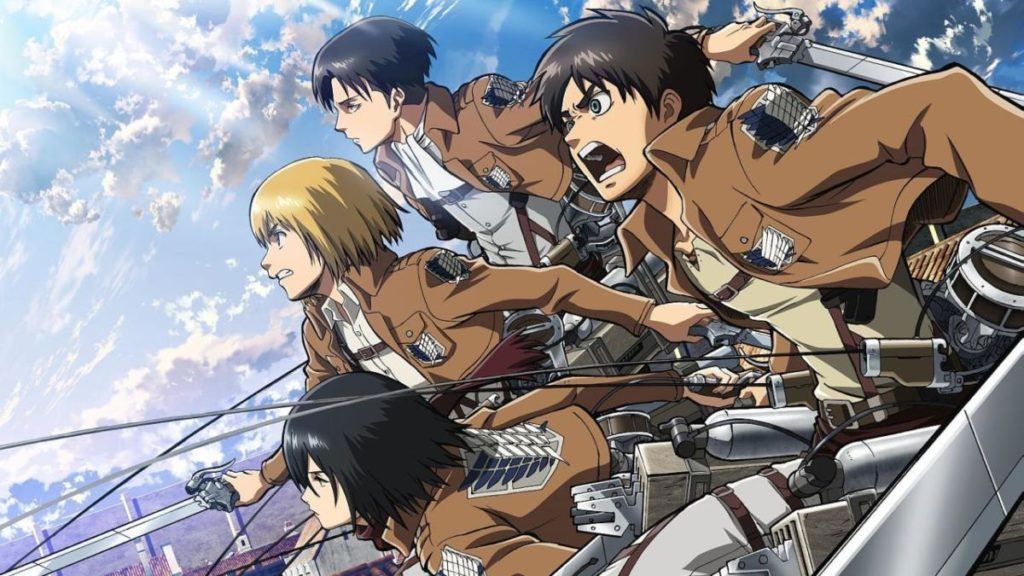 attack on titan differenze tra anime e manga
