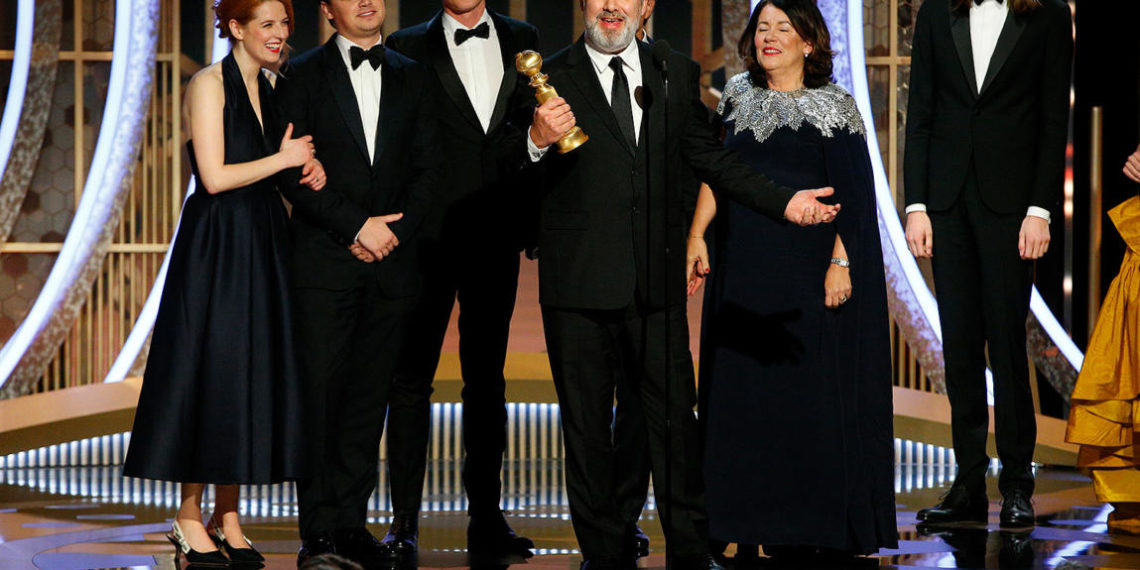Cast 1917 ai Golden Globes 2020