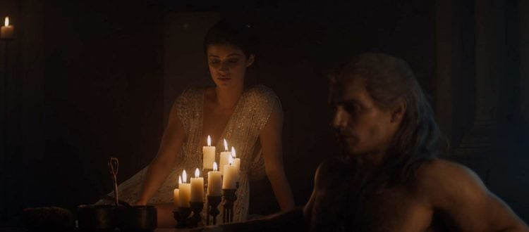 the witcher geralt e yennefer the last wish
