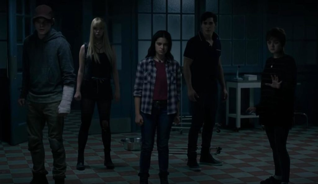 cast di the new mutants