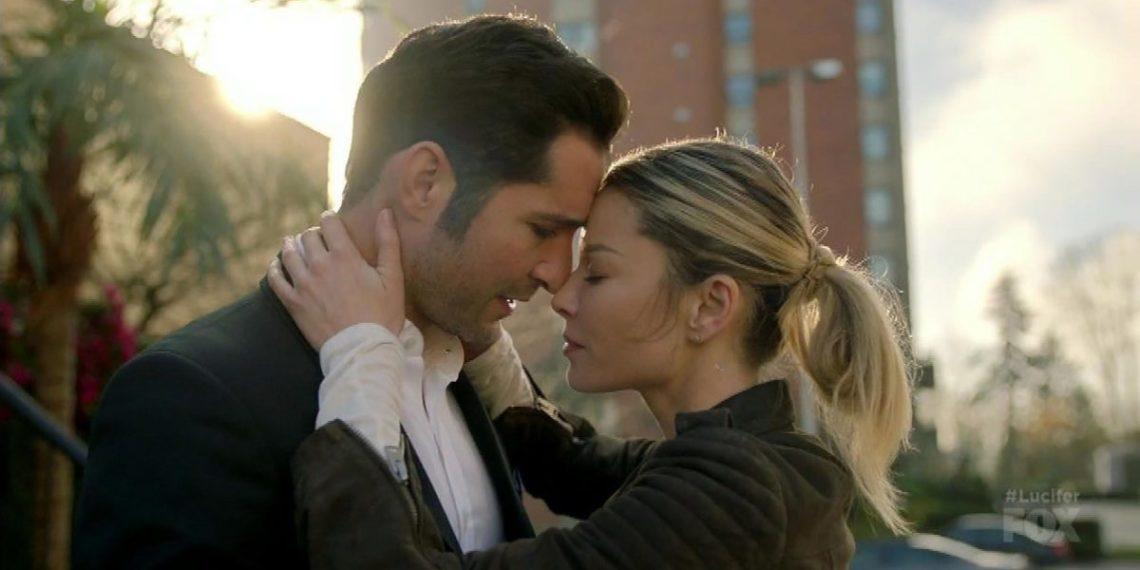 lucifer chloe momenti più belli bacio