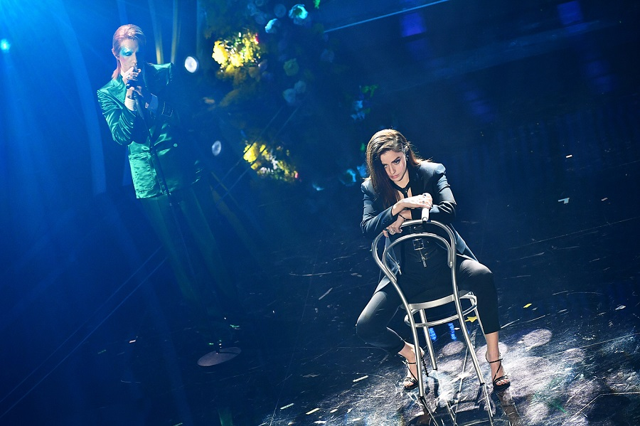Achille Lauro e Annalisa duetto Sanremo 2020