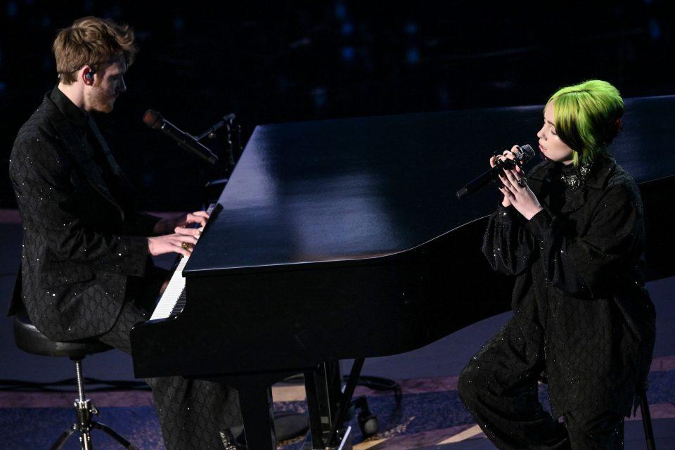 Billie Eilish e Finneas agli Oscar 2020