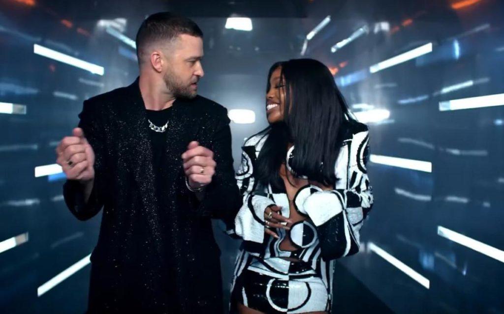 Justin Timberlake e SZA nel video di The Other Side