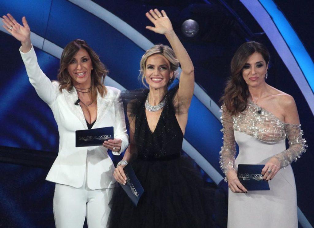 Sabrina Salerno, Emma D'Aquino e Laura Chimenti a Sanremo 2020