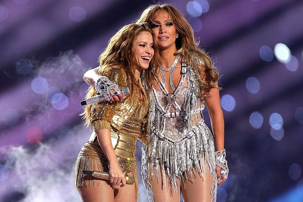 Shakira e Jennifer Lopez spettacolo intervallo Super Bowl