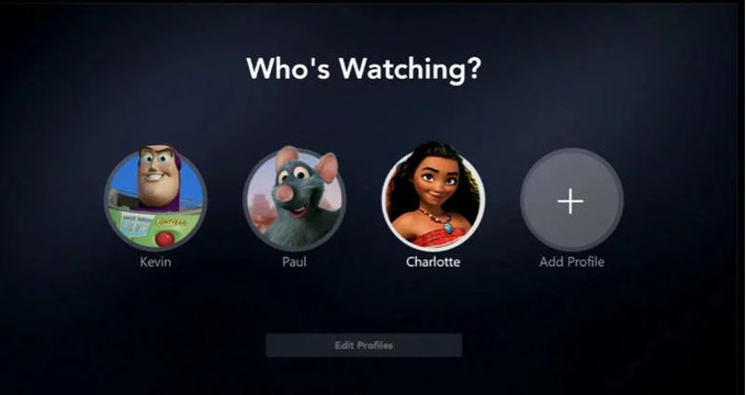 Alcuni esempi di avatar di Disney+