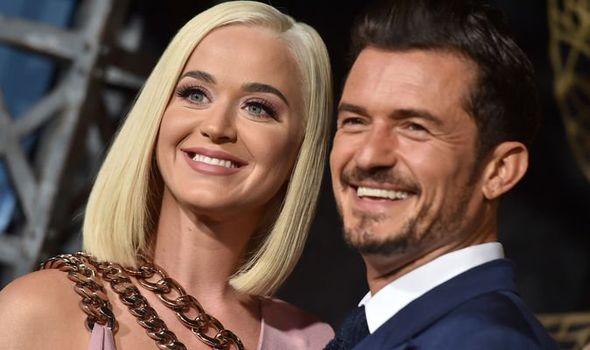 Katy Perry e Orlando Bloom Premiere