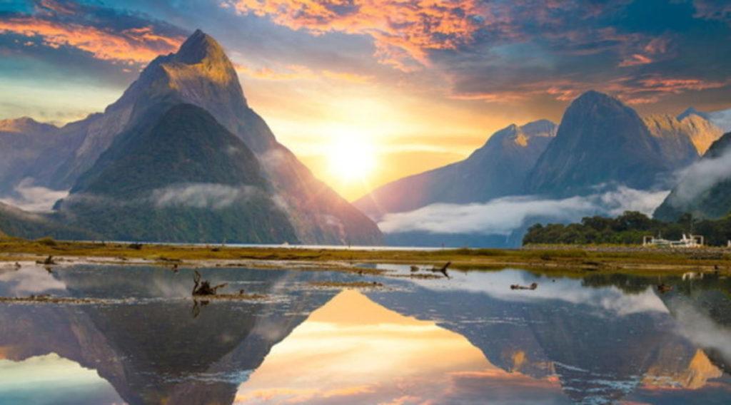 Milford Sound, Nuova Zelanda - Il Signore Degli Anelli