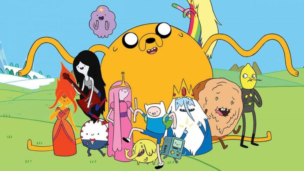 serie tv per bambini - Adventure Time