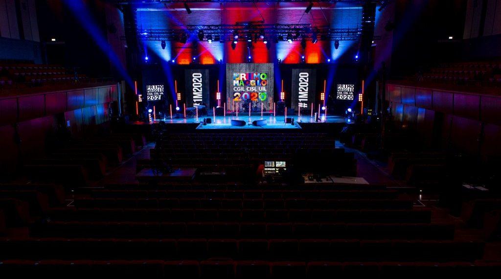 Auditorium Parco della Musica Roma Concerto Primo Maggio 2020