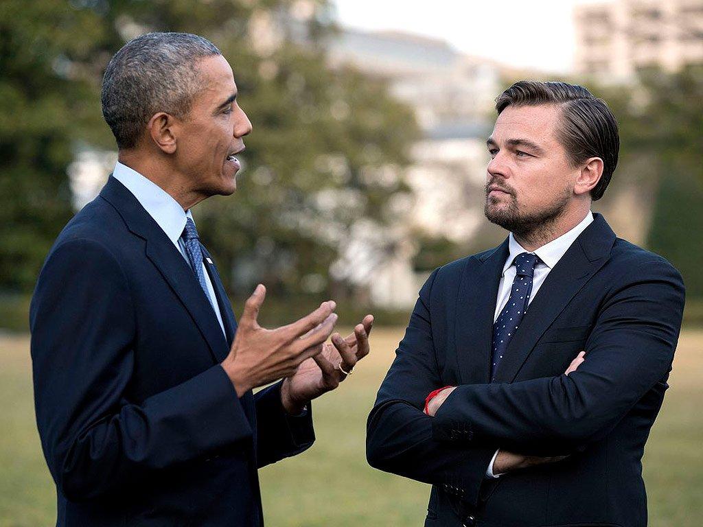 Obama e DiCaprio in Punto di Non Ritorno