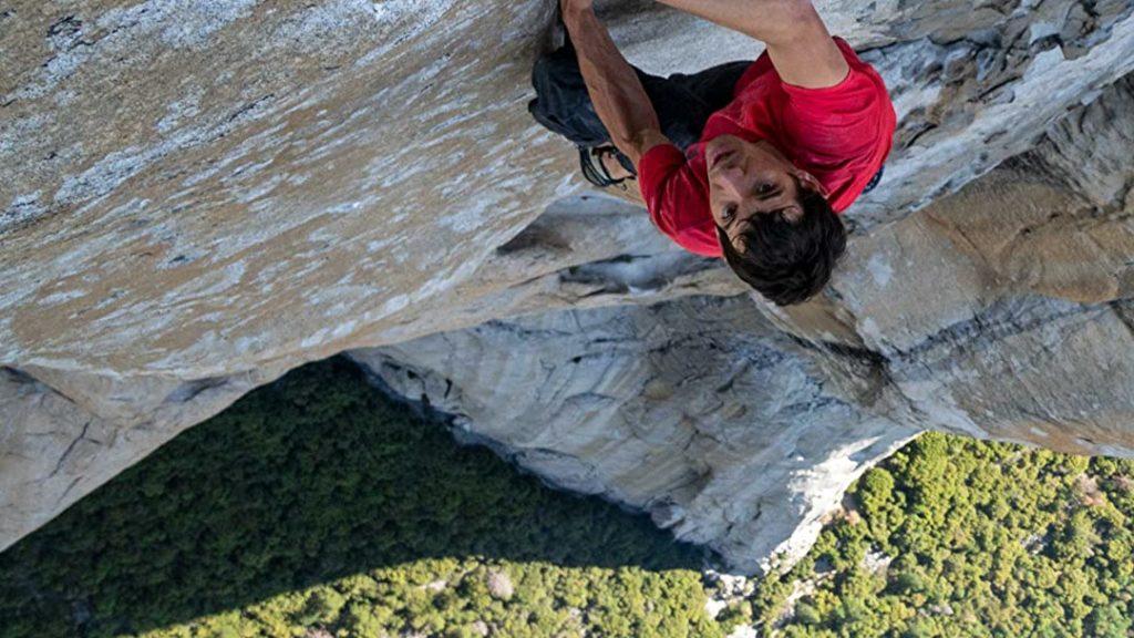 Alex Hannold su El Capitan in Free Solo - Sfida Estrema