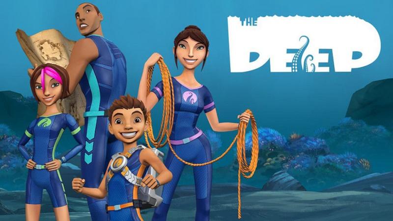 the deep - serie tv per bambini