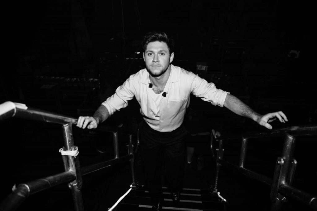 Niall Horan Black And White