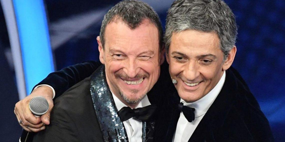 Amadeus E Fiorello Sanremo 2021 Conduzione