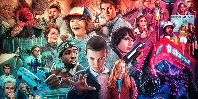 Stranger Things Poster Serie Tv
