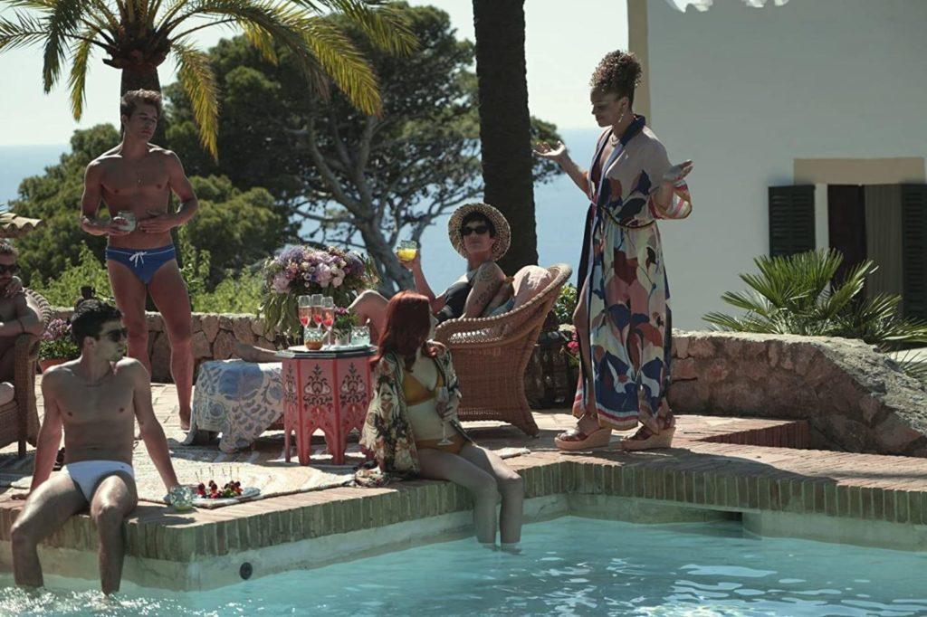 Angela Griffin e Johanna Wallmeier in una delle feste in piscina di Anna.