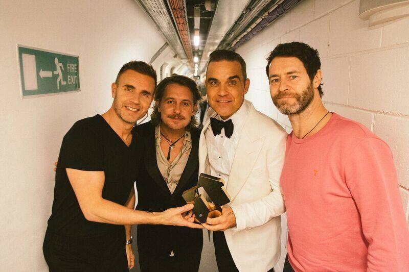 Riunione Take That Con Robbie Williams