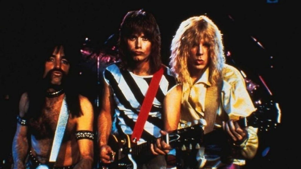 Michael McKean, Christopher Guest e Harry Shearer in una scena di This Is Spinal Tap