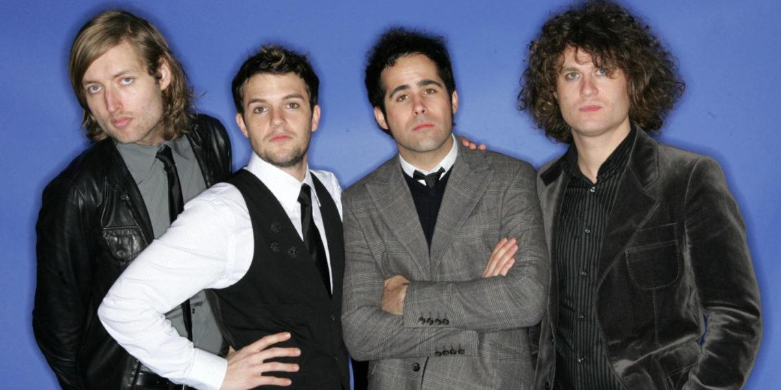 I Killers in posa in una foto promozionale