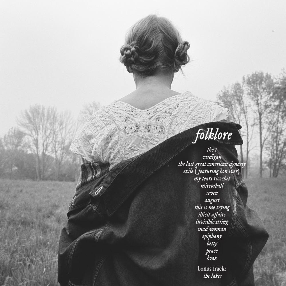 Tracklist Folklore Taylor Swift