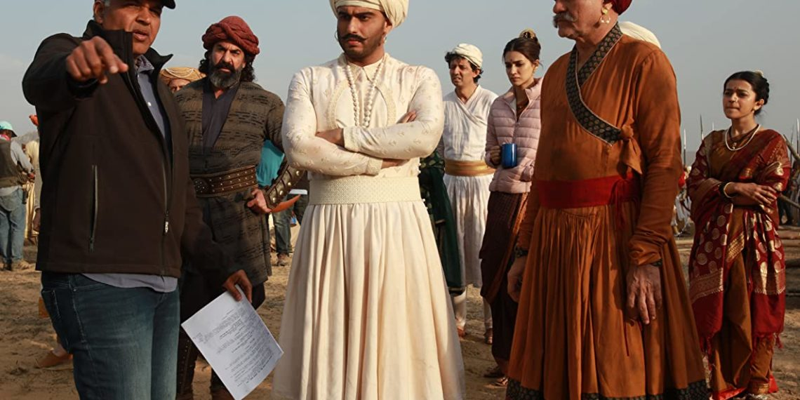 Ashutosh Gowariker e Arjun Kapoor in Panipat