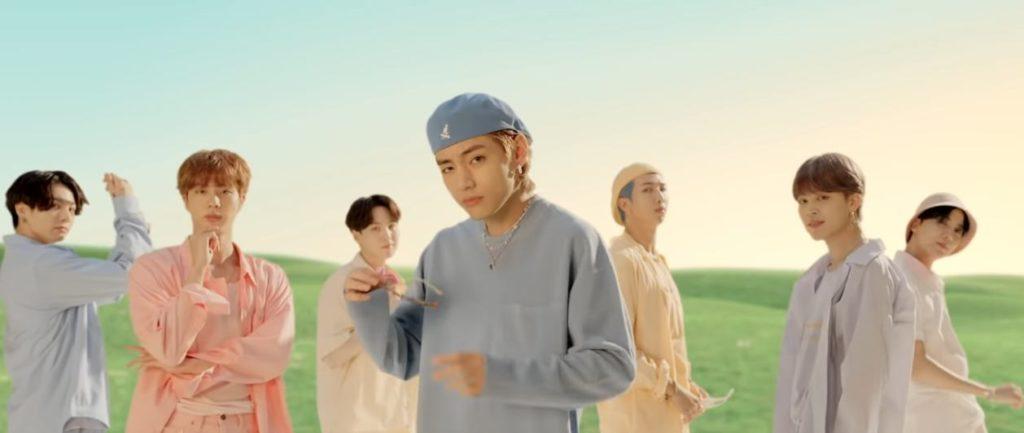 BTS Nel Video di Dynamite