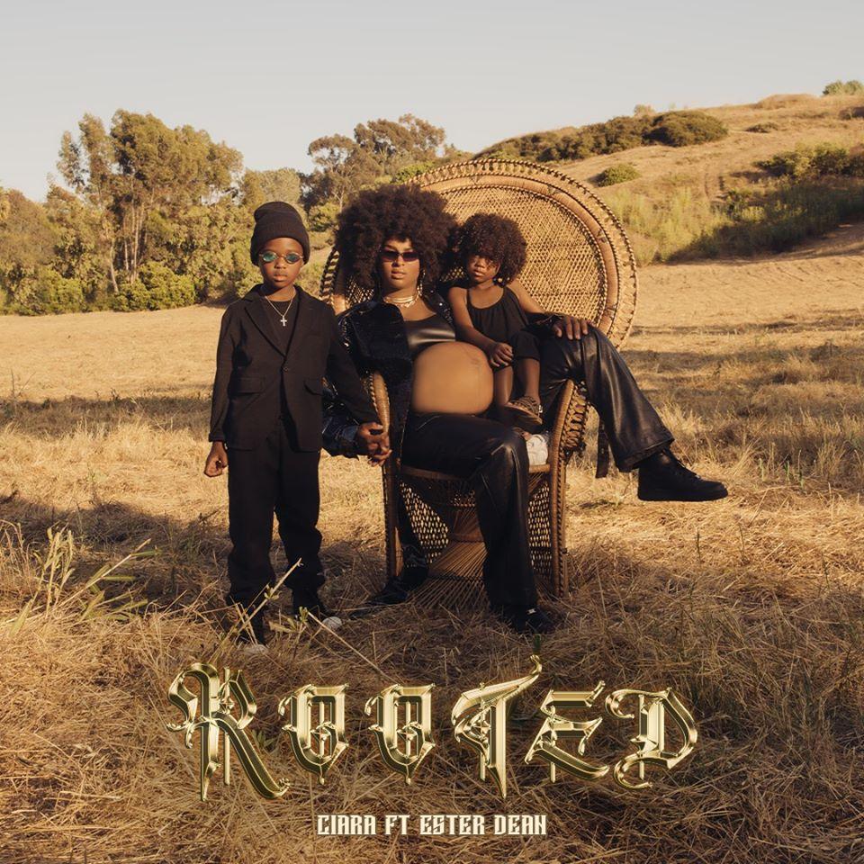 Ciara nella cover di Rooted