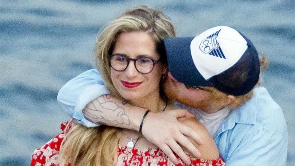 Ed Sheeran e la moglie Cherry Seaborn