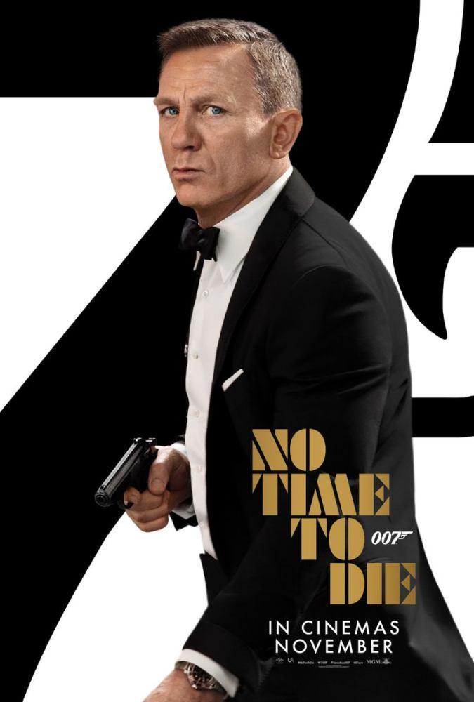Daniel Craig nel poster di No Time To Die