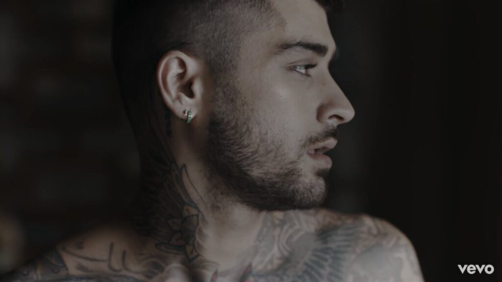 Zayn nel video di Better