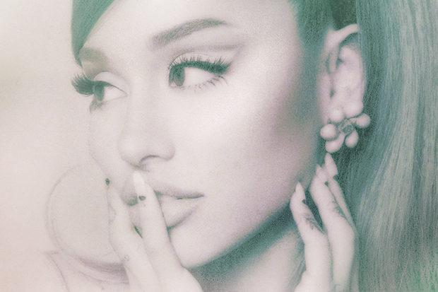 Ariana Grande Positions Album Cover