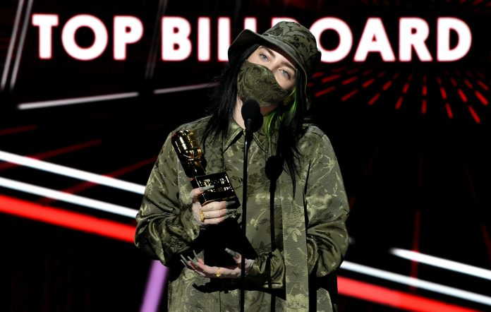 Billie Eilish ai Billboard Music Awards 2020