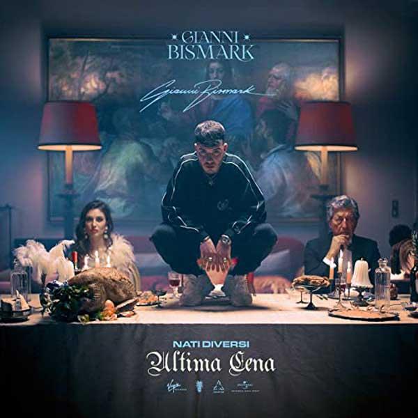 Gianni Bismark Copertina Album Nati Diversi Ultima Cena