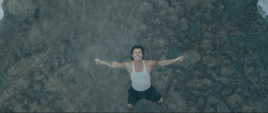 Shawn Mendes nel video di Wonder