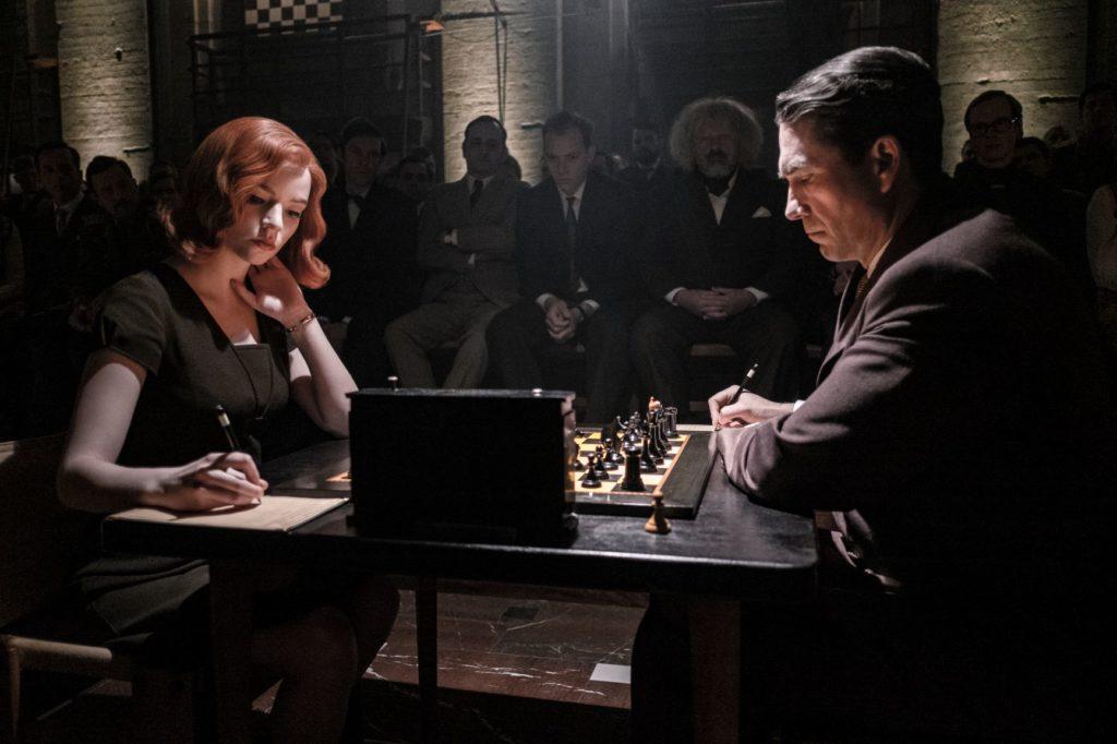 Beth vs Burgov ne La Regina Degli Scacchi