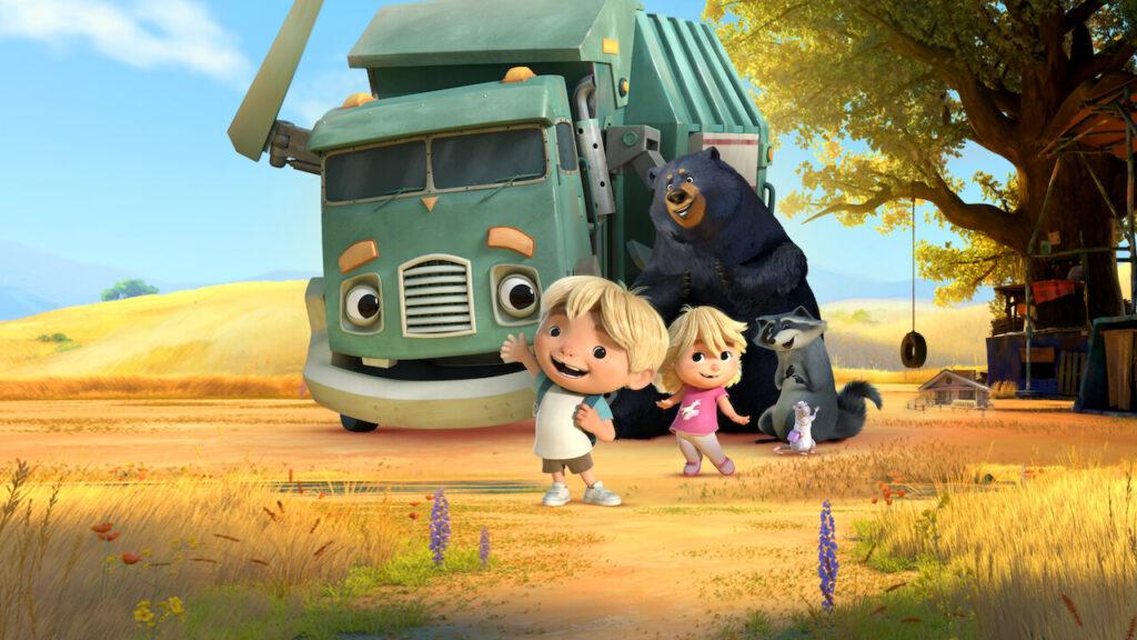 Hank e il camion dei rifiuti