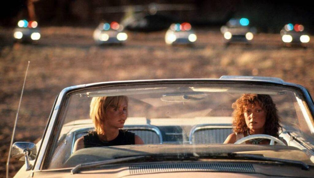 """Una scena del film """"Thelma e Louise"""""""