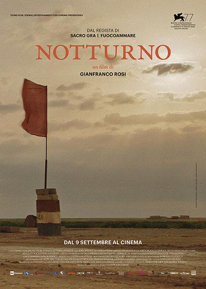 """La locandina di """"Notturno"""", documentario di Gianfranco Rosi"""