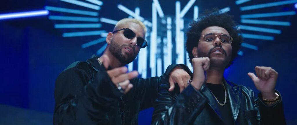 The Weeknd e Maluma remix Hawai Video