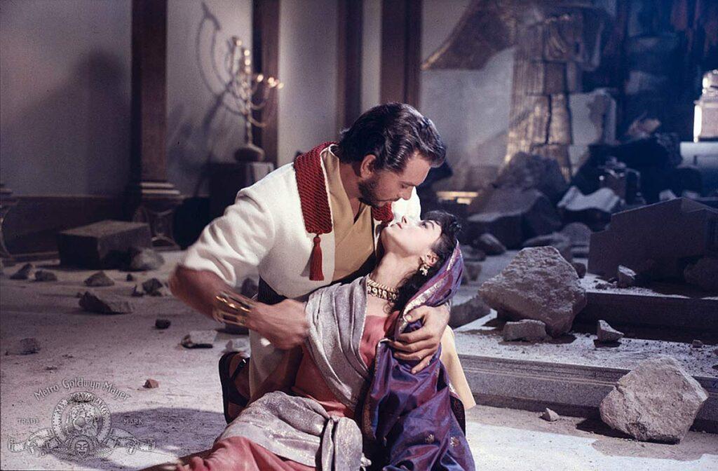salomone e la regina di saba morti sul set
