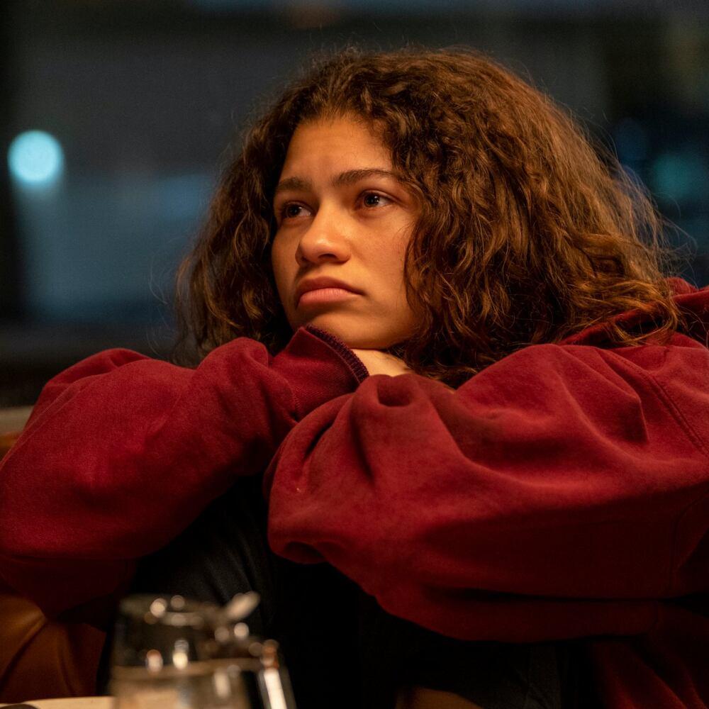 Zendaya nel primo episodio speciale di Euphoria