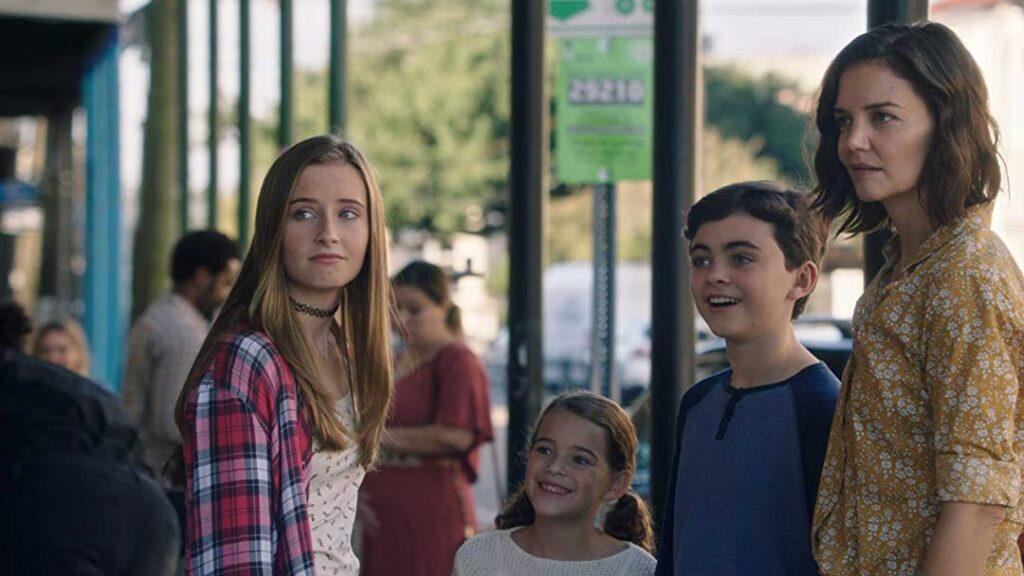 Katie Holmes con i figli in The Secret - La Forza di Sognare