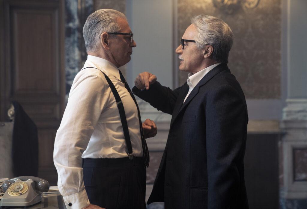 I politici nel film L'incredibile storia dell'Isola delle Rose