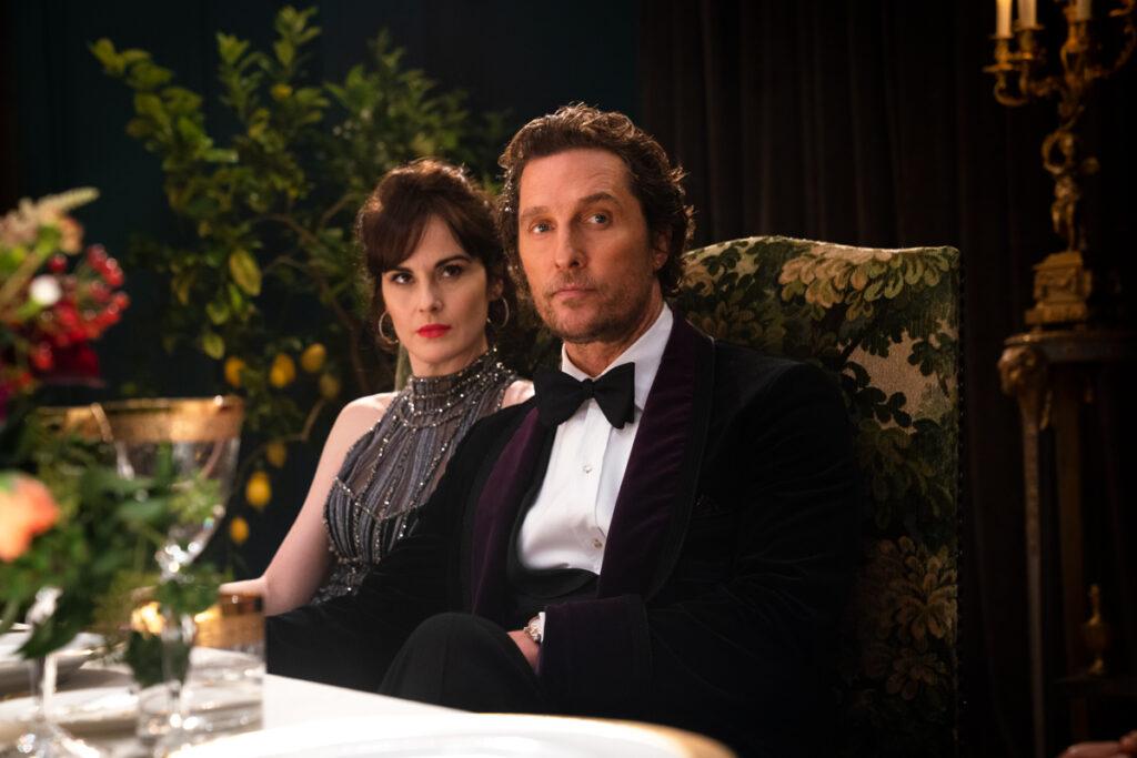 Matthew McConaughey e Michelle Dockery in The Gentlemen