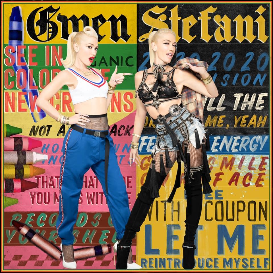 Gwen Stefani Let Me Reintroduce Myself Cover