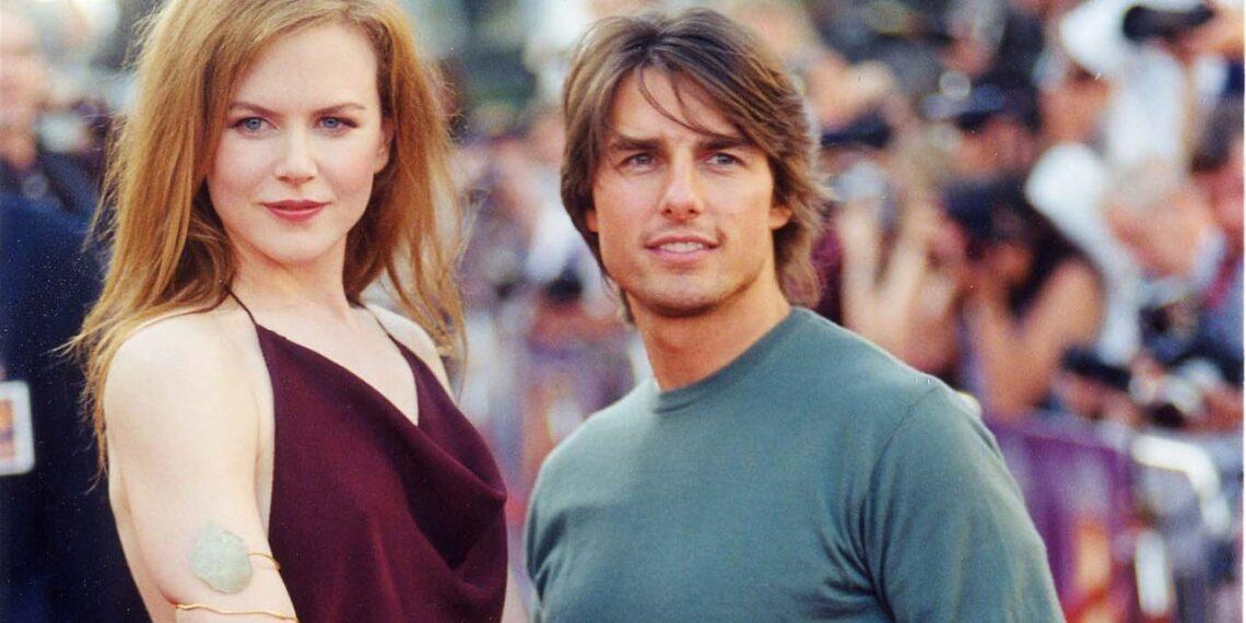 Tom Cruise e Nicole Kidman in foto