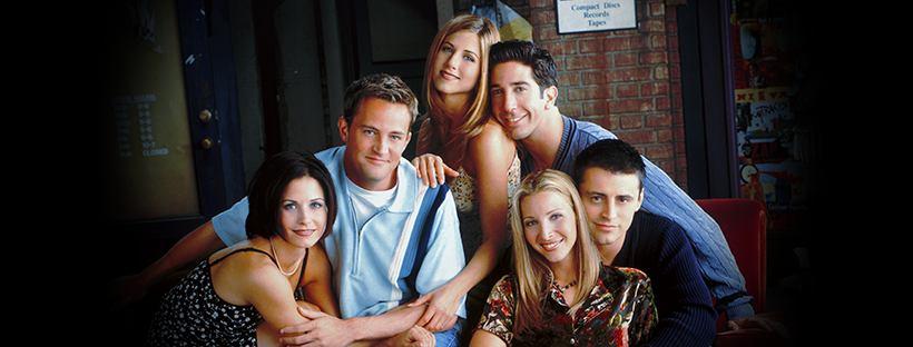 Il cast di Friends al completo